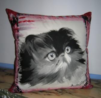 Dipinto su cuscino - Anna Maria Di Giorgi