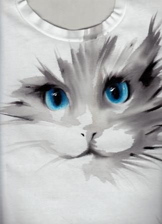 Dipinto su t-shirt - Anna Maria Di Giorgi