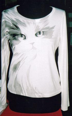 Dipinto su maglia - Anna Maria Di Giorgi