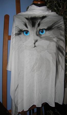 Dipinto su maglia mantella  - Anna Maria Di Giorgi