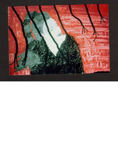 Tecnica mista collage su cartone telato - F.to 50x70