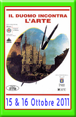 IL DUOMO INCONTRA L'ARTE - Milano, 15/16 ottobre 2011