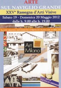 Arte sul Naviglio Grande - Milano: 19 e 20 maggio 2012