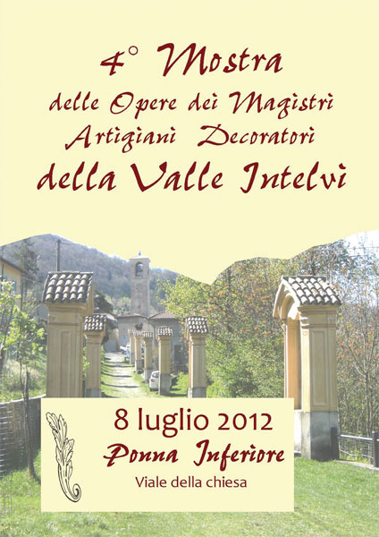 Mostra delle Opere dei Magistri Artigiani Decoratori della Valle Intelvi