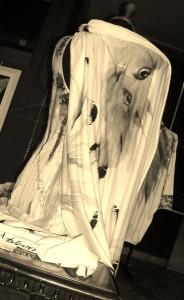 Anna Maria Di Giorgi: stola in jersey di seta dipinta a mano (clicca per ingrandire)