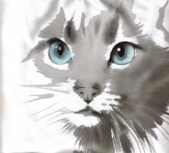 Anna Maria Di Giorgi: dipinto su t-shirt in cotone (clicca per ingrandire)