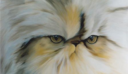 Anna Maria Di Giorgi: Persiano - olio su tela 50x70