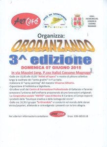 ArtCafé - Locandina evento