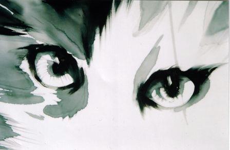 Occhi dipinti